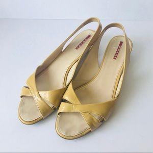 Prada Woman's Slingback Shoes Size